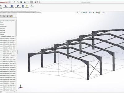 طراحی سازه فلزی (سازه فولادی)