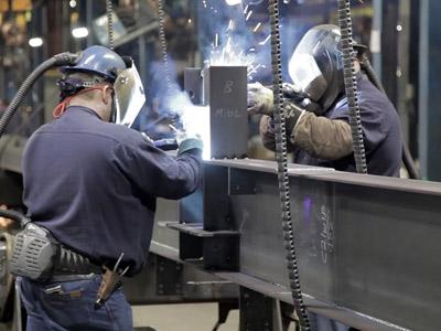 نصب سازه های فلزی و تجهیزات